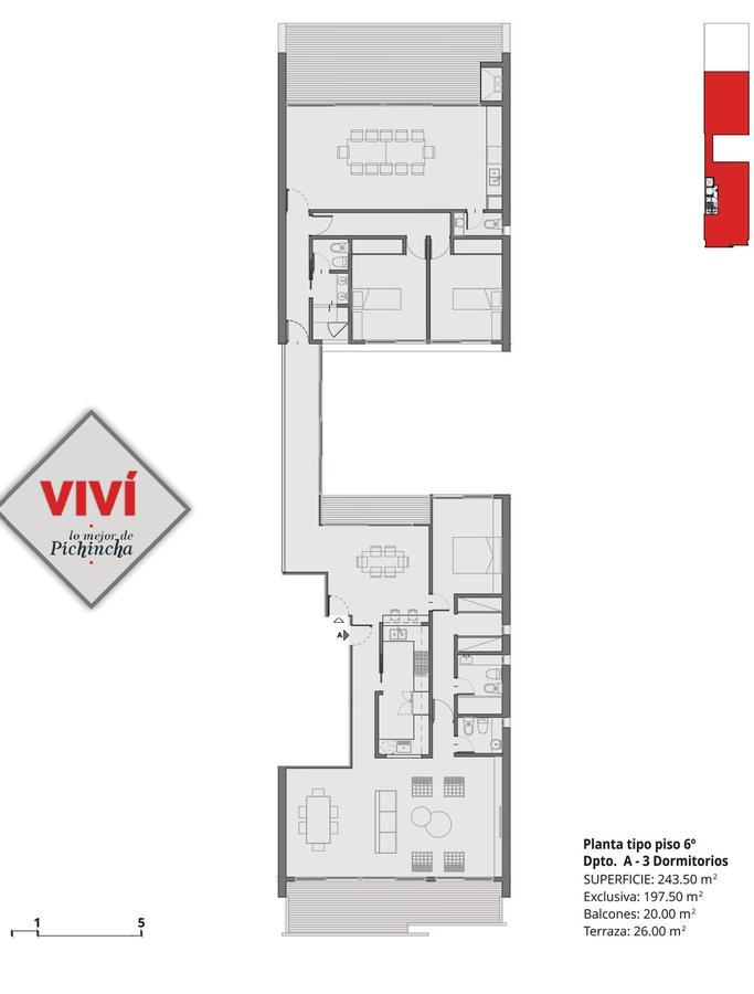 Foto Edificio en Pichincha SALTA 2261 número 12
