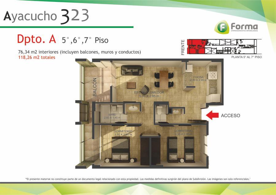 Foto Edificio en Barrio Sur AYACUCHO 232 número 19