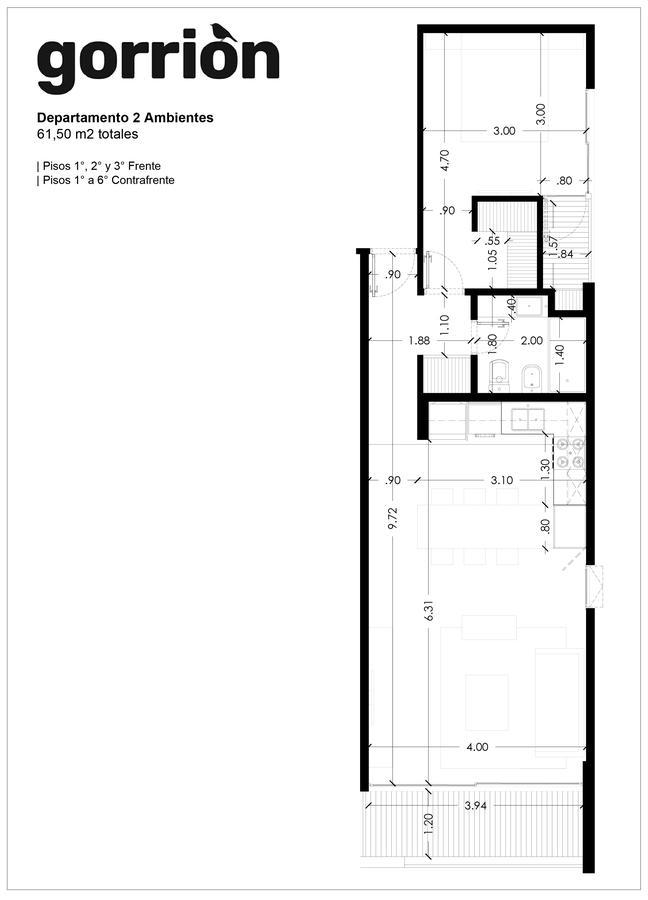 Foto Edificio en Ituzaingó Emprendimiento Edilicio Gorrion número 5