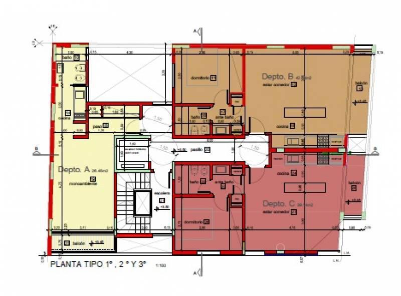 Foto Edificio en Gualeguaychu Avenida Sarmiento 151 número 4