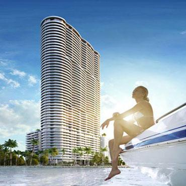 Emprendimiento ARIA ON THE BAY en Miami-dade