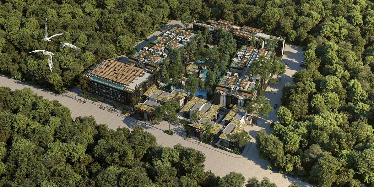 Foto Condominio en Playa del Carmen VENTA DEPARTMENTO PLAYA DEL CARMEN  número 1