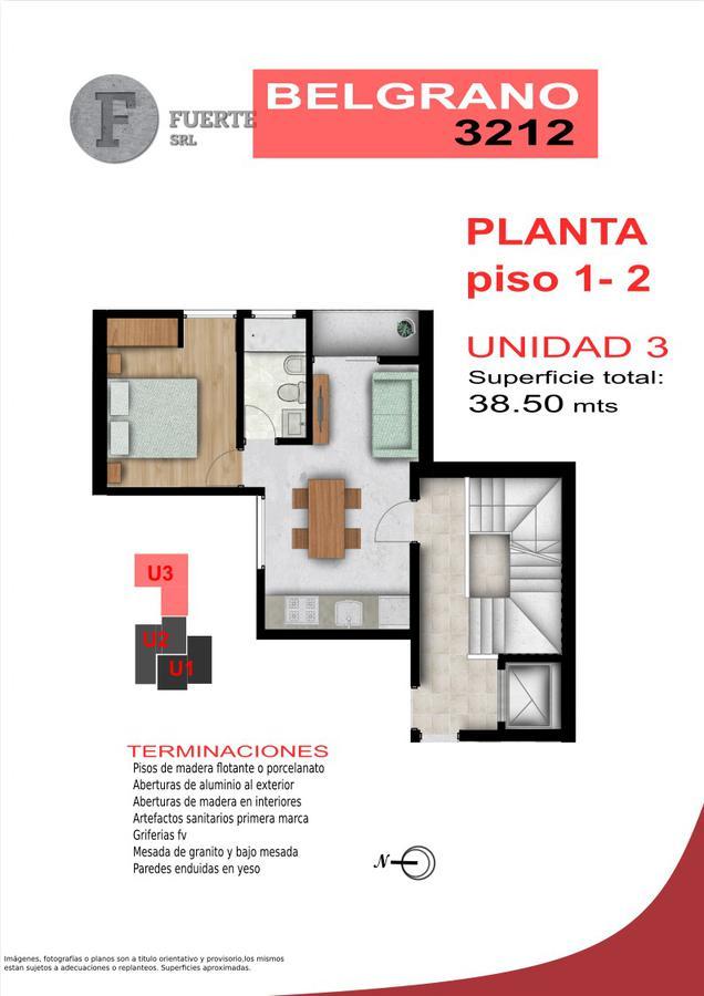 Foto Edificio en Candioti CANDIOTI SUR - Belgrano 3212 número 5