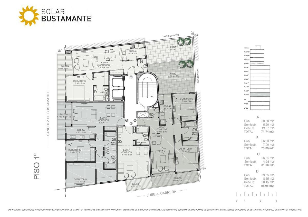 Foto Edificio en Palermo J. A. Cabrera y S. de Bustamante número 6