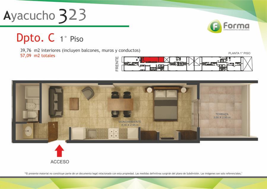 Foto Edificio en Barrio Sur AYACUCHO 232 número 5