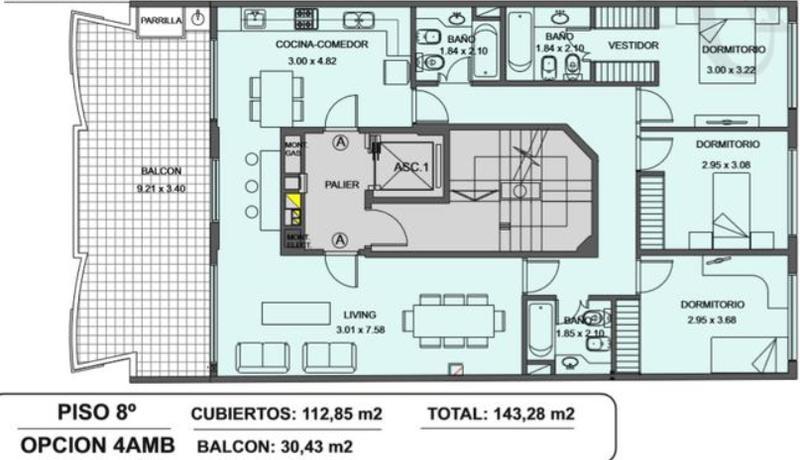 Foto Edificio en Caballito Norte Bogotá 220 número 9