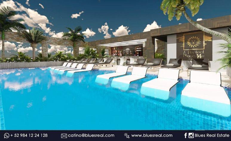 Unit picture Apartment in Sale in  Solidaridad ,  Quintana Roo  Studios For sale in Playa del Carmen;  A perfect place Estudio