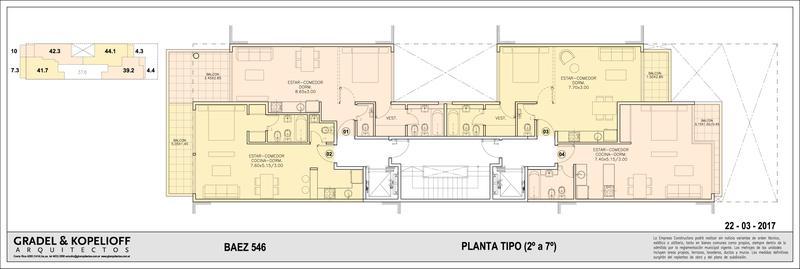 Foto Edificio en Las Cañitas BAEZ 546 número 7