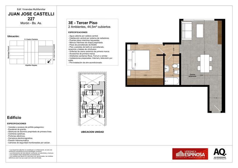 Foto Edificio en Moron Sur Castelli 200 número 28