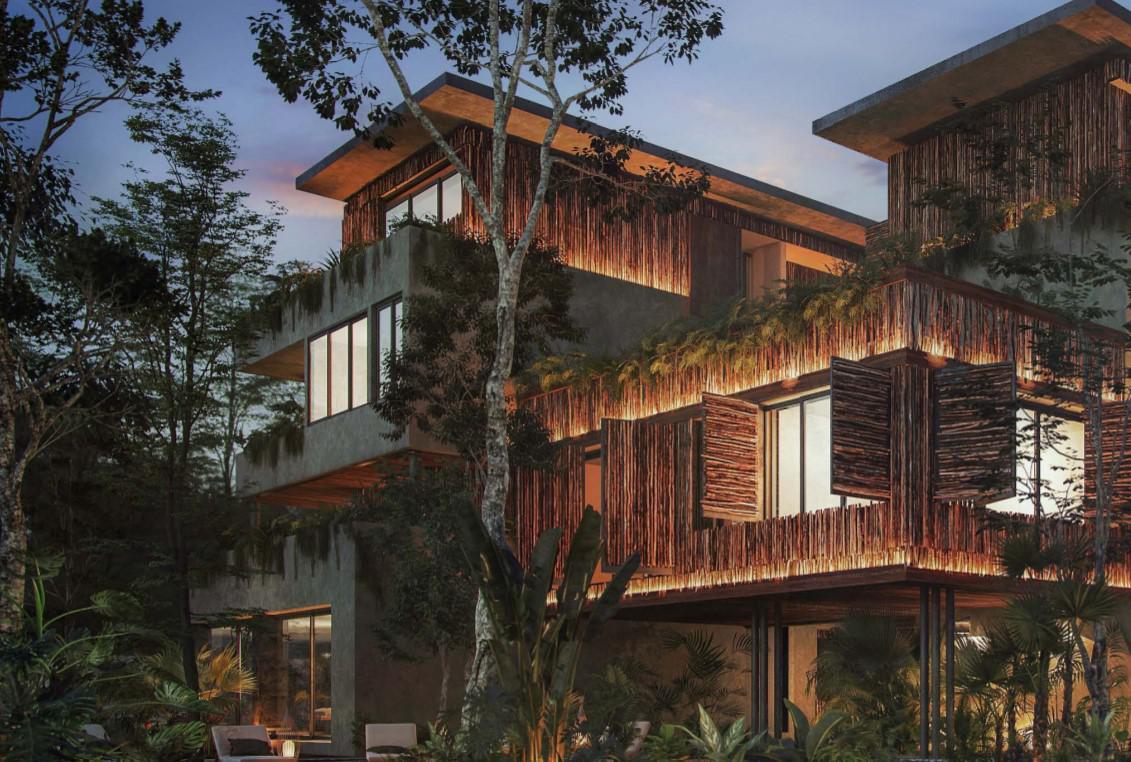 Foto Condominio en Aldea Zama Nuevo Eco Residence entre Aldea Zama y la Playa de Tulum        número 2