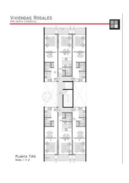 Foto Edificio en Adrogue ROSALES AL 1400 entre Cerretti y Plaza Brown número 6
