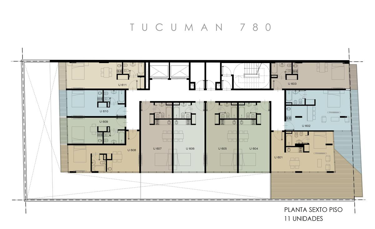 Foto Edificio en Microcentro             Tucuman 780          caba número 30