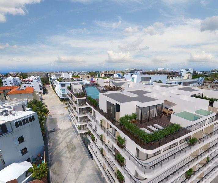 Foto Edificio en Playa del Carmen Centro  número 12