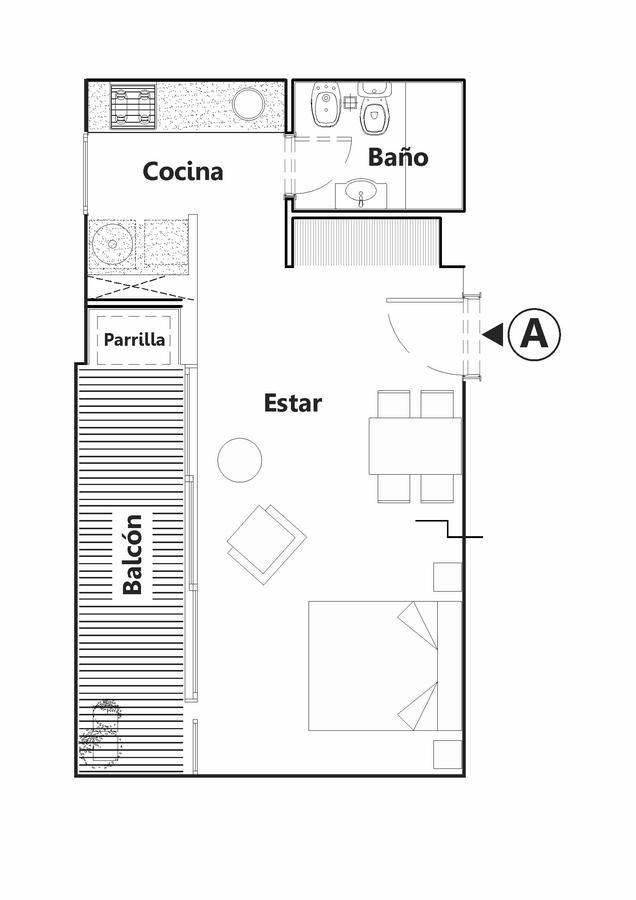 Foto Edificio en Chauvin Arenales esquina Castelli número 6