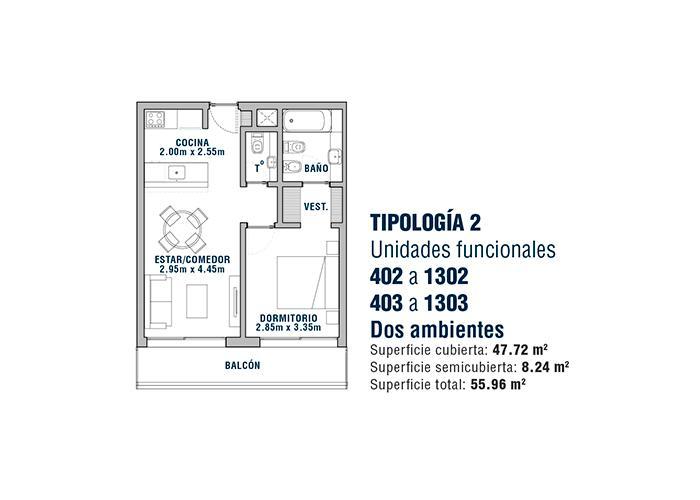 Foto Edificio en Área Centro Este  Belgrano 531 número 16