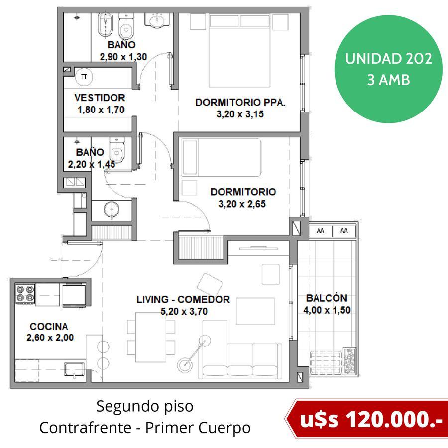 Departamentos con cochera fija en Tigre - Excelente ubicación - Fideicomiso al costo en pesos-16
