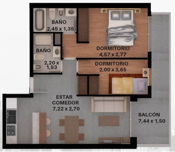 Foto Edificio en Lourdes Rioja 3071 número 8