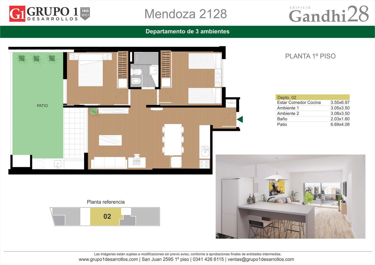 Foto Edificio en Centro Oeste MENDOZA 2128 número 5