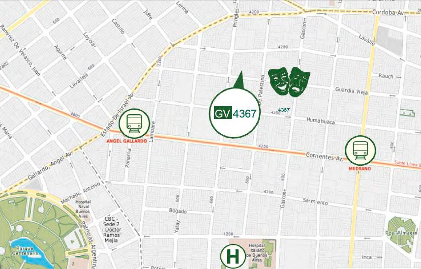 Emprendimiento GUARDIA VIEJA 4367 en Almagro