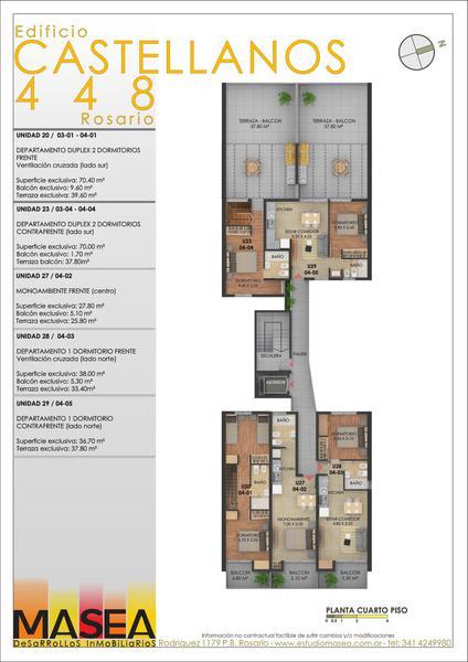 Foto Edificio en Luis Agote Castellanos 448 número 5