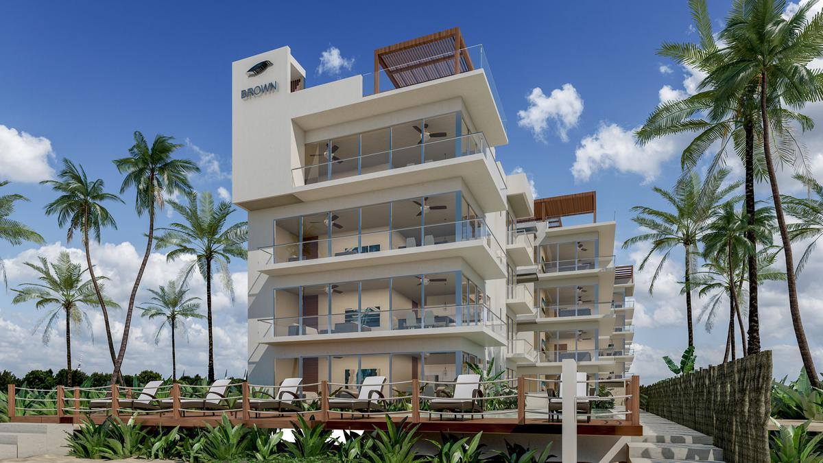 Foto Edificio en Telchac Puerto Brown Luxury Beach Condos número 1