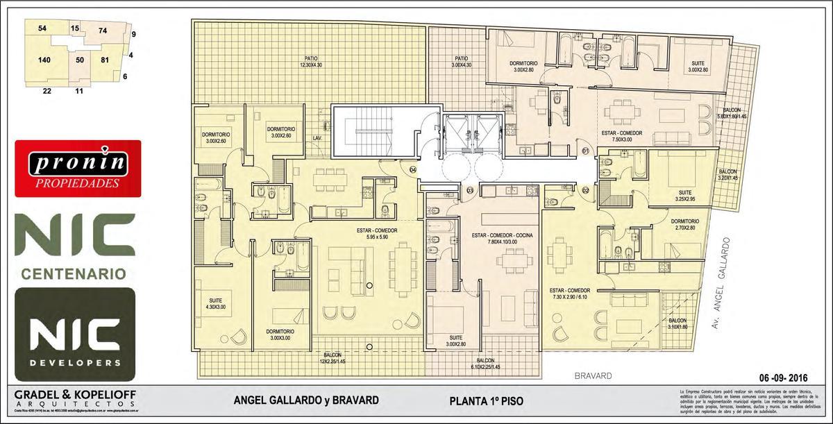 Foto Edificio en P.Centenario             Av Angel Gallardo y Bravard           número 8