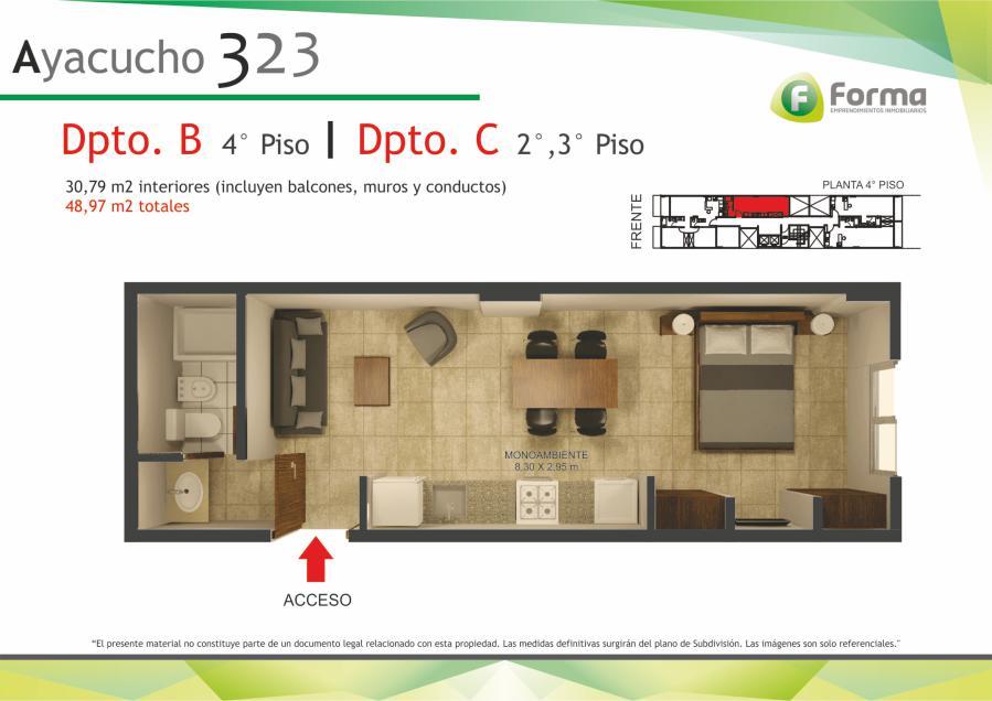 Foto Edificio en Barrio Sur AYACUCHO 232 número 7