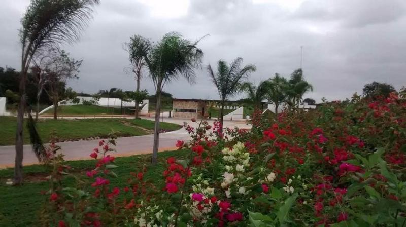 Foto Condominio en Pueblo Cholul Privada Abedules- Parque central número 5