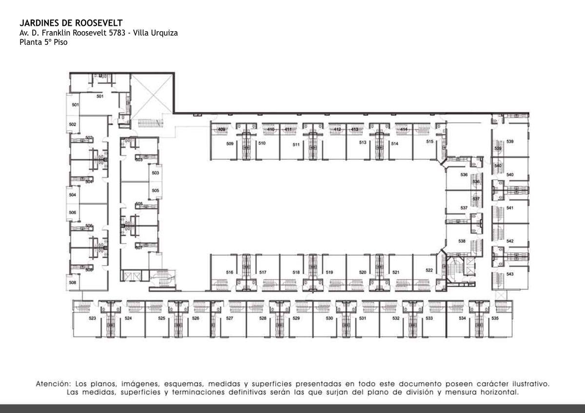 Foto Edificio en Villa Urquiza Av. D. Franklin Roosevelt al 5700 numero 25