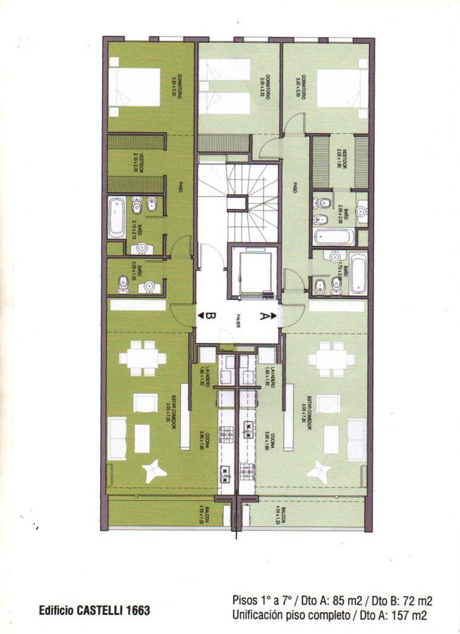 Foto Edificio en Guemes  Castelli 1650 numero 2