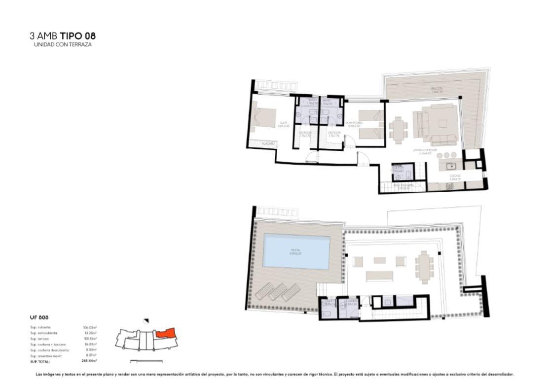 Foto Edificio en Yoo Nordelta YOO3 by ACQUA Excelencia en diseño y confort número 21