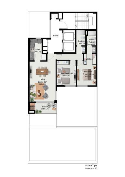 Foto Edificio en Nueva Cordoba Bv Chacabuco 625| Aviva Boulevard número 16