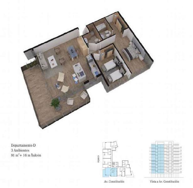 Foto Edificio en Constitucion Constitución 3200 número 12
