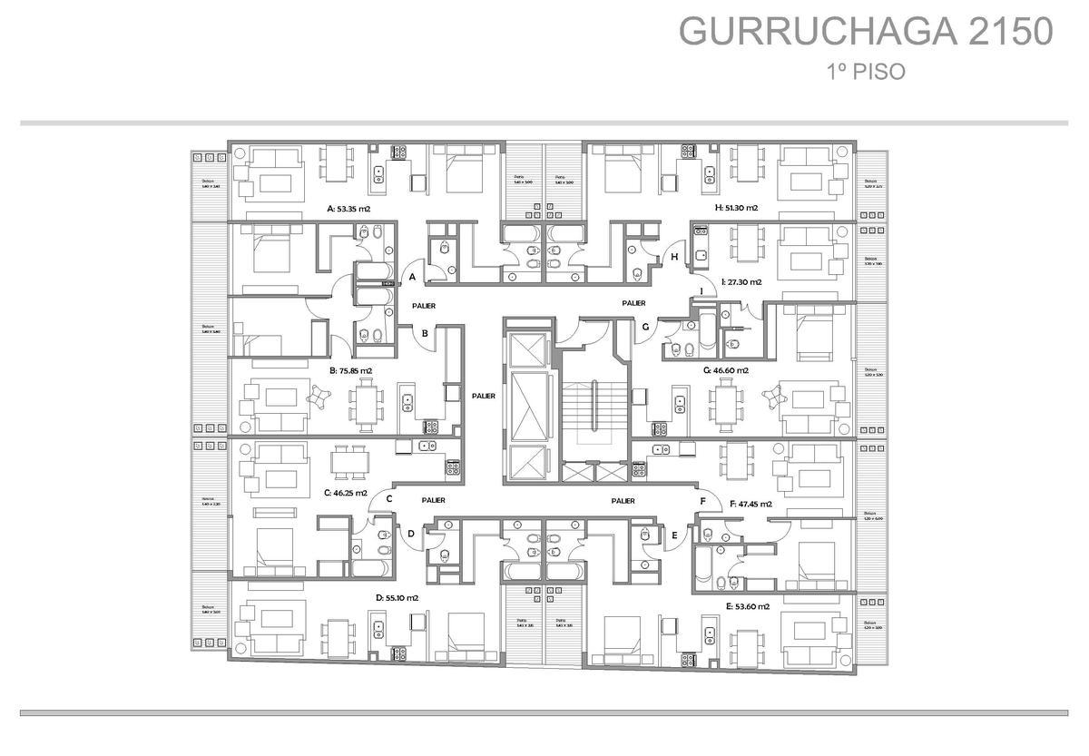 Foto Edificio en Palermo Gurruchaga y Paraguay numero 4