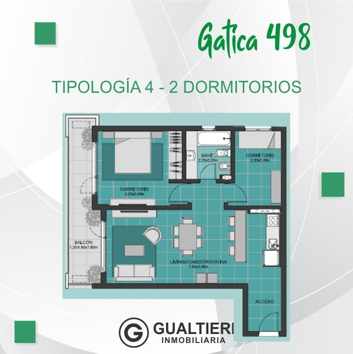Foto Edificio en Cumelén                          Gatica 498          - CONDICIONES UNICAS número 11