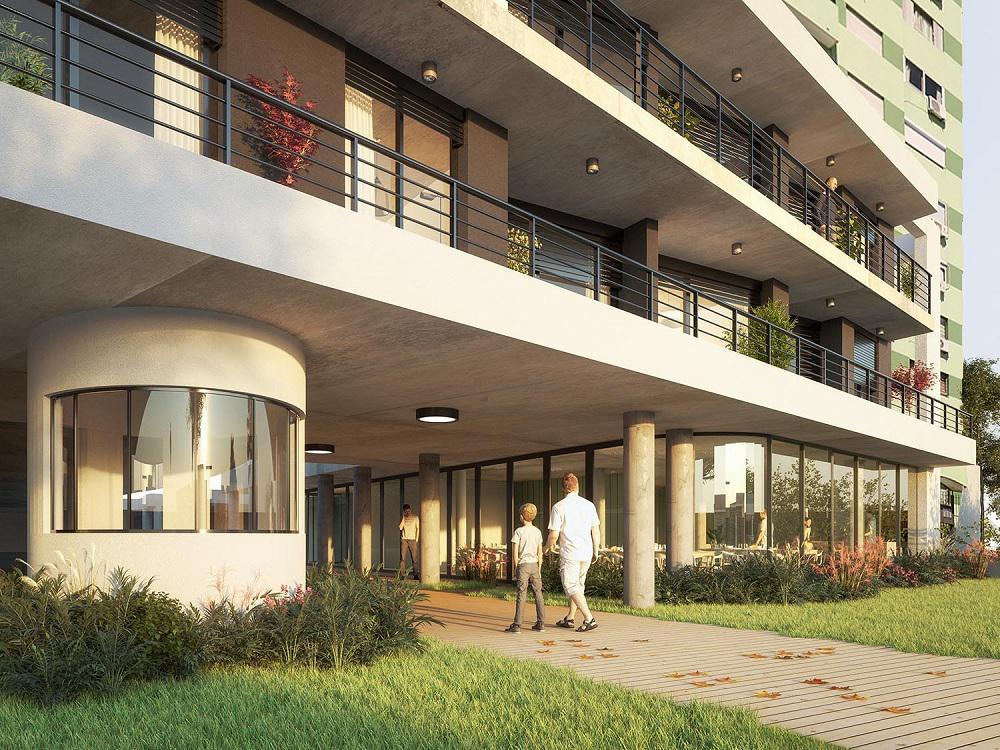 Foto Edificio en La Blanqueada             Bvar. Batlle y Ordóñez número 7