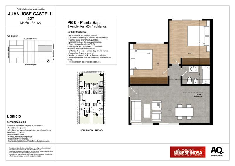 Foto Edificio en Moron Sur Castelli 200 número 22