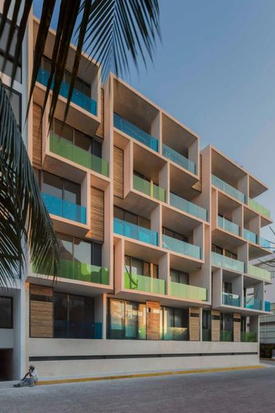 Foto Edificio en Zazil Ha Coco Beach a una cuadra del Mar, Playa del Carmen. Quintana Roo. número 8