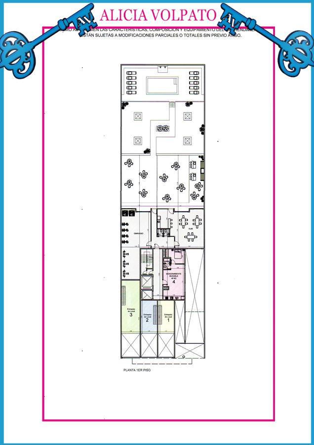 Foto Edificio en Wilde LAS FLORES 535 número 2