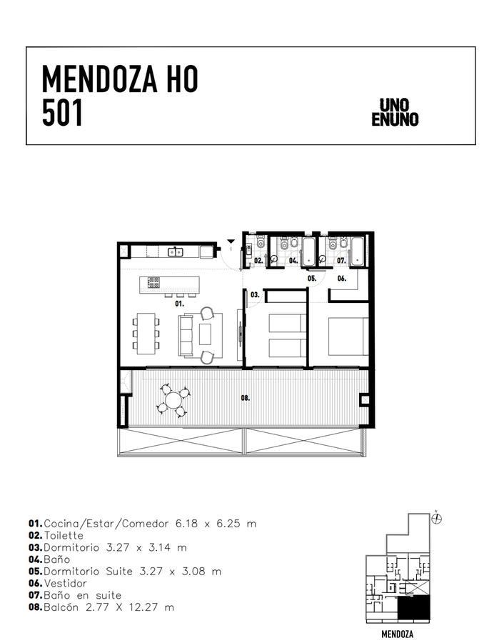 Emprendimiento Mendoza HO: Mendoza 4251 en Villa Urquiza
