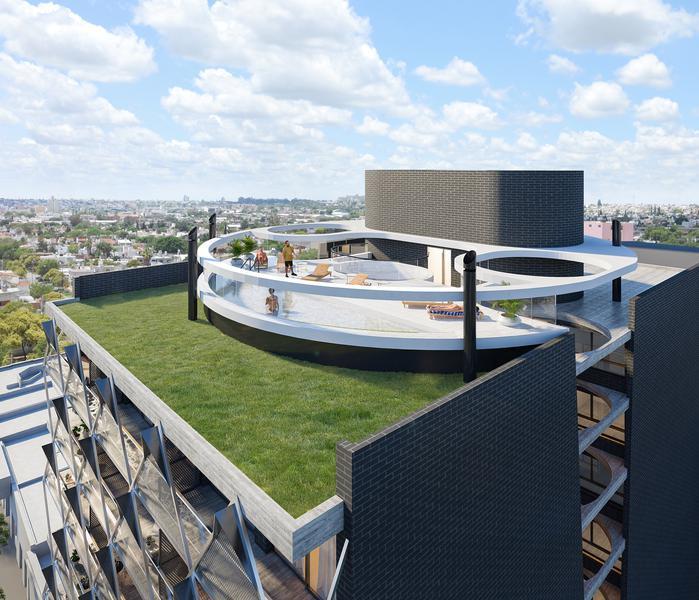 Foto Edificio en General Paz SONOMA 9- Av. Gral. Ortiz de Ocampo 40 número 5