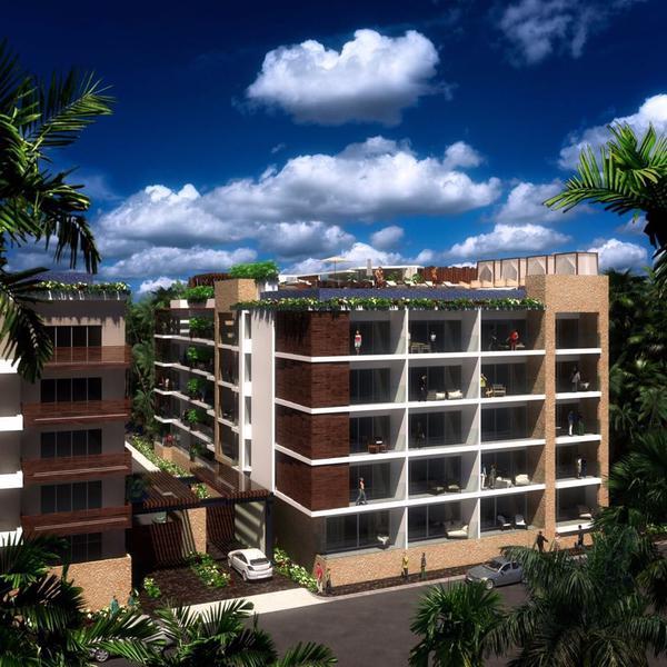 Foto Edificio en Playa del Carmen Centro Calle 34 entre avda 20 y 10. número 12