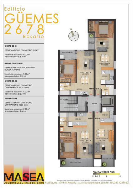 Foto Edificio en Pichincha Guemes 2678 número 5