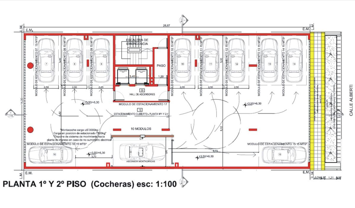 Foto Edificio en Santa Genoveva  Islas Malvinas 800 número 13
