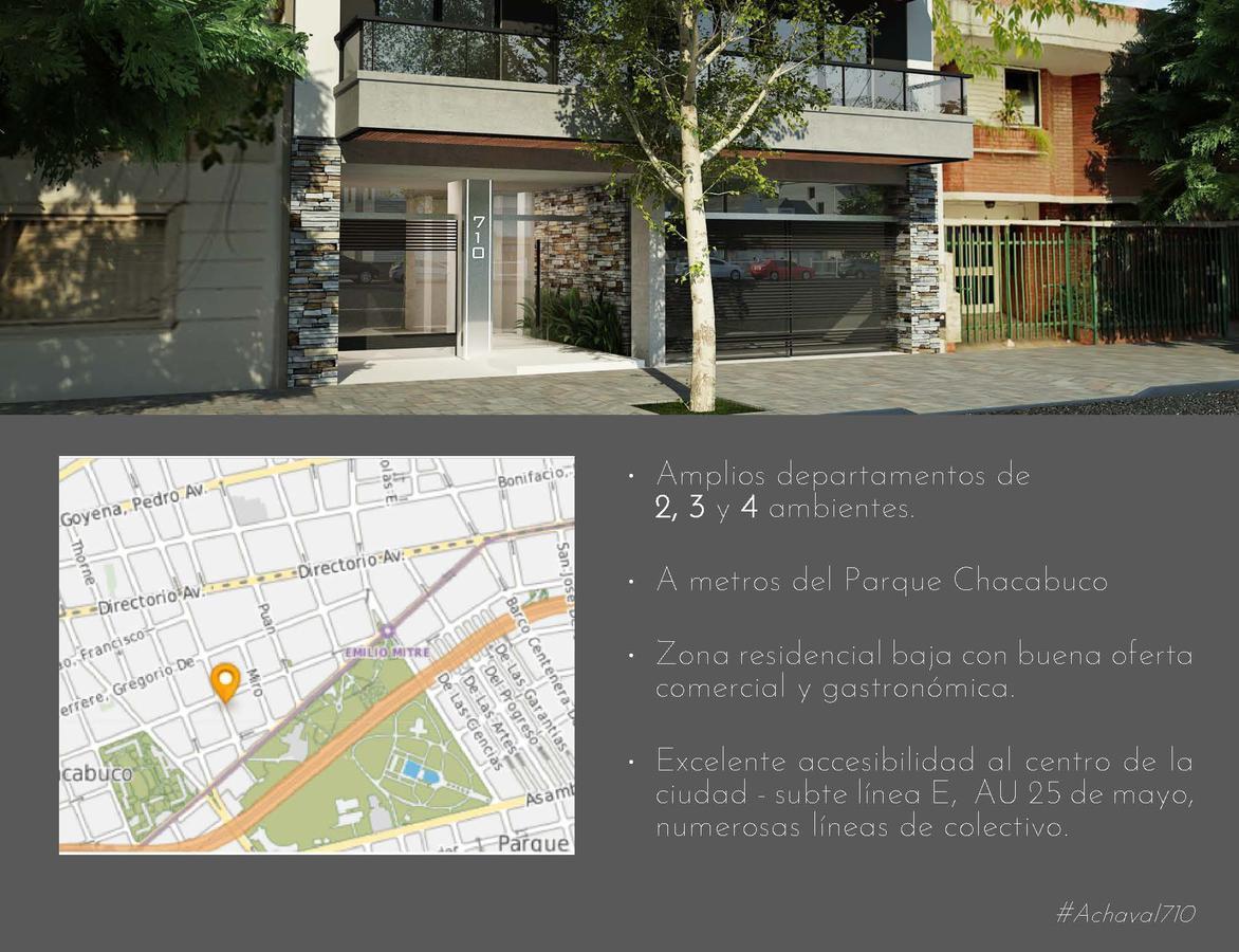 Foto Edificio en Parque Chacabuco ACHAVAL 710 PARQUE  CHACABUCO  número 4