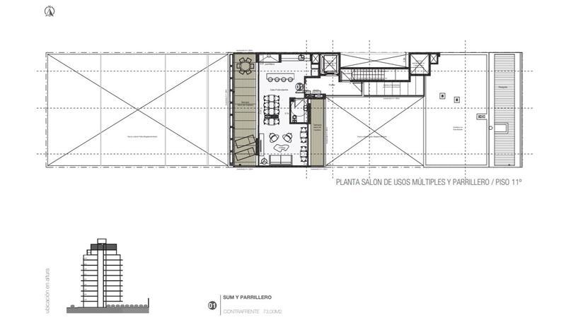 Foto Edificio en Centro (Montevideo) Andes 1200 número 9