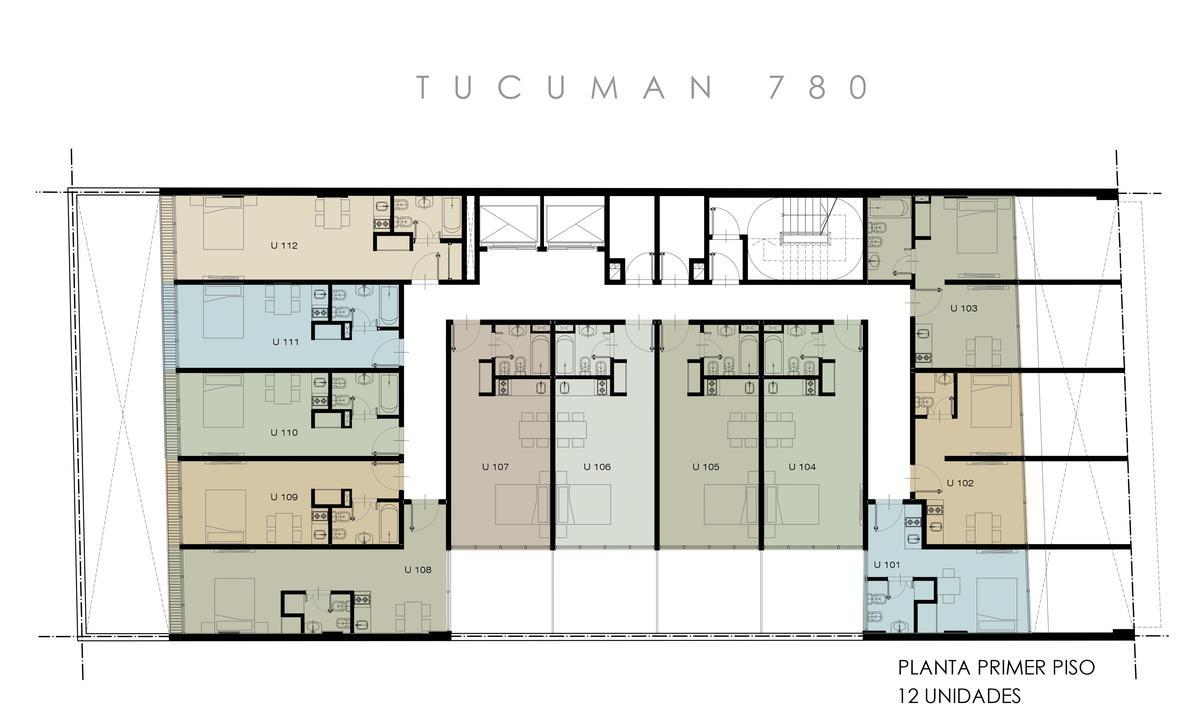 Foto Edificio en Microcentro             Tucuman 780          caba número 31