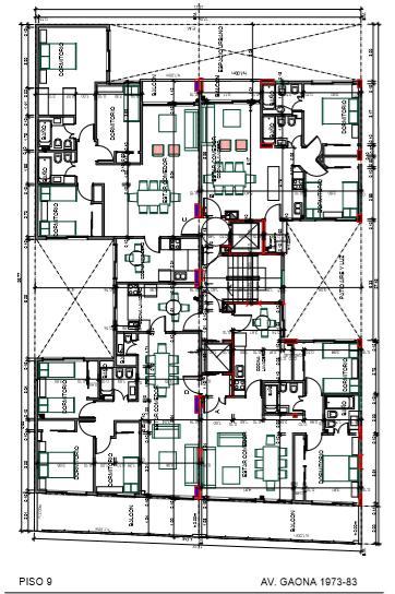 Foto Edificio en Caballito Norte Edificio de 3 y 4 ambientes. número 8