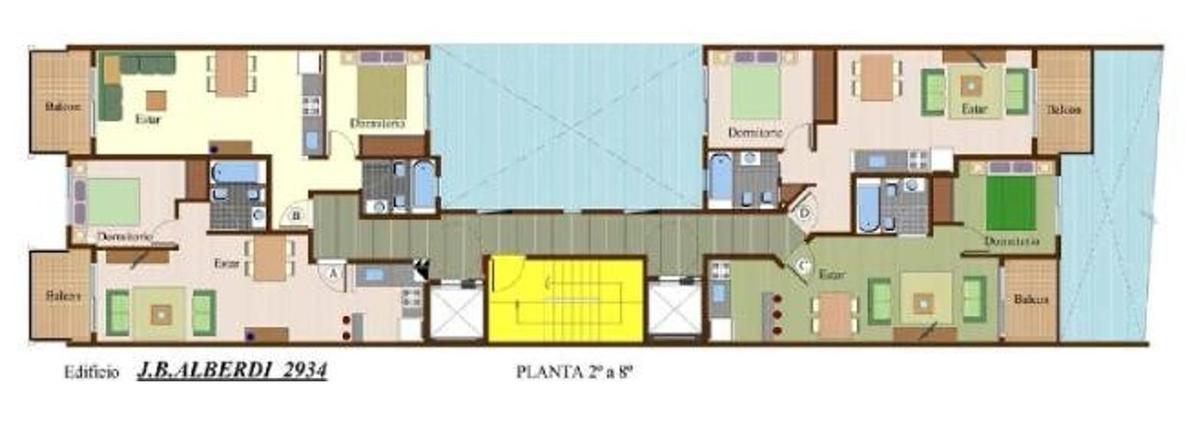 Foto Edificio en Flores Av.  Alberdi 2934           número 22