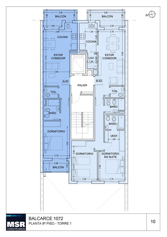 Foto Edificio en Centro BALCARCE 1072 número 13